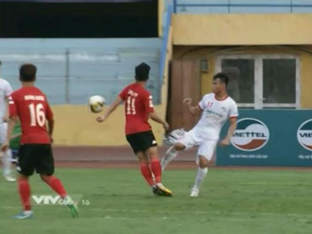 Đạp gãy chân SAO U20 VN: Tấn Tài bị phạt nặng như cầu thủ HAGL đá láo