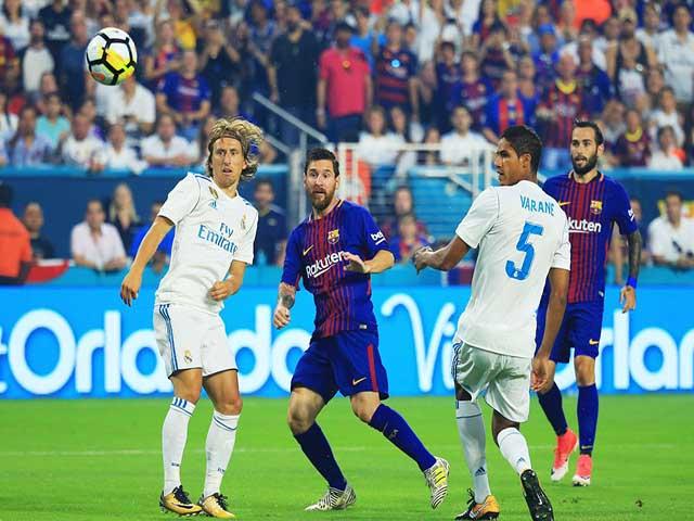 TRỰC TIẾP Barcelona - Real Madrid: Ronaldo lập công, Real gỡ hòa