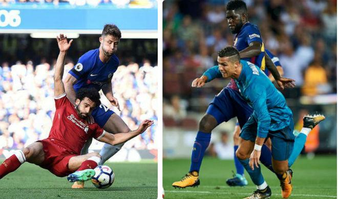 """Salah học Ronaldo """"vấp cỏ"""": Chưa phải số 1 đã mắc bệnh """"sao""""? - 1"""