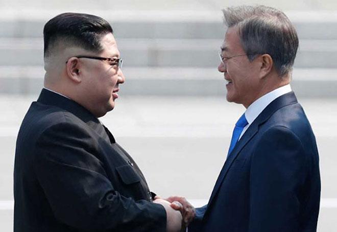 Bí mật chiếc USB Tổng thống Moon Jae-in tặng ông Kim Jong-un - 1