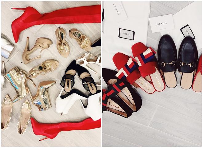 Bảo Thy bỏ hàng trăm triệu mua giày hiệu: Thứ đã khoe chỉ là số ít so với những gì tôi có - 1