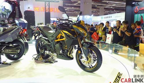 Kymco K-Rider: Đứa con lai của Kymco và Kawasaki - 1
