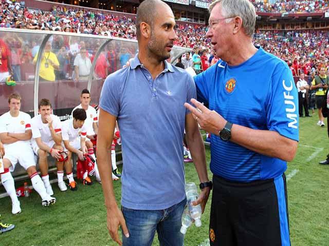 """Cú sốc MU: Sir Alex trước khi nhập viện, """"tiếp cận"""" Pep thay Mourinho?"""