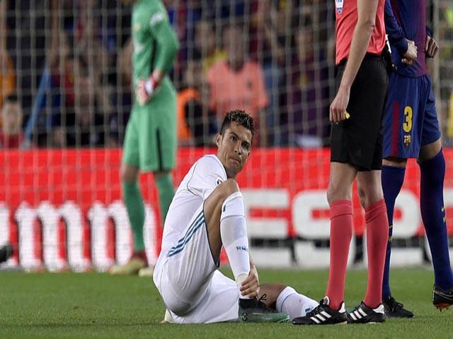 """Ronaldo chấn thương: Real sốt sắng tìm """"thần y"""", quyết đấu Liverpool"""