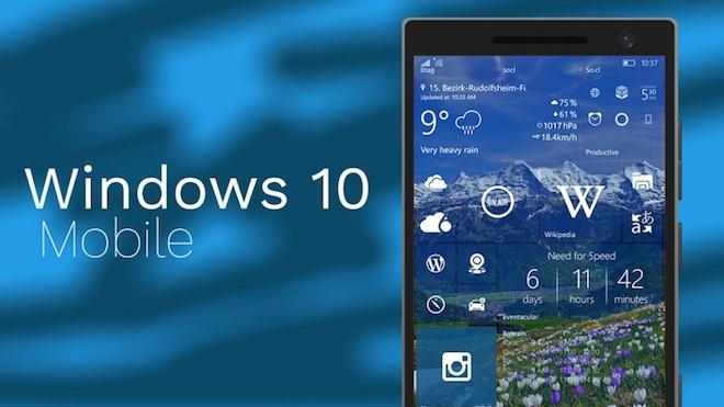Microsoft bất ngờ tung ra bản cập nhật cho Windows 10 Mobile? - 1