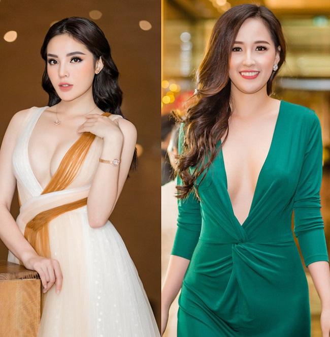 """Kỳ Duyên, Mai Phương Thúy được coi là hai Hoa hậu Việt Nam có phong cách ăn vận gợi cảm nhất hiện nay. Trong đó, thời gian gần đây, Kỳ Duyên có sự """"lột xác"""" lớn về phong cách."""