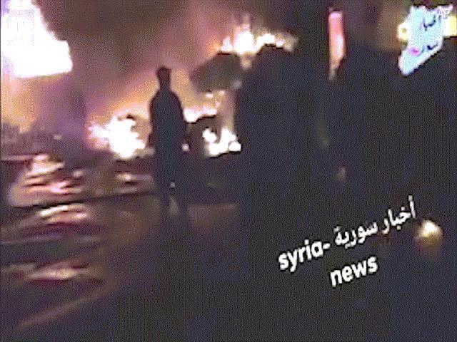 Israel dội bom vào căn cứ Iran ở Syria, 9 người thiệt mạng