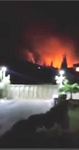 Israel dội bom vào căn cứ Iran ở Syria, 9 người thiệt mạng - 1