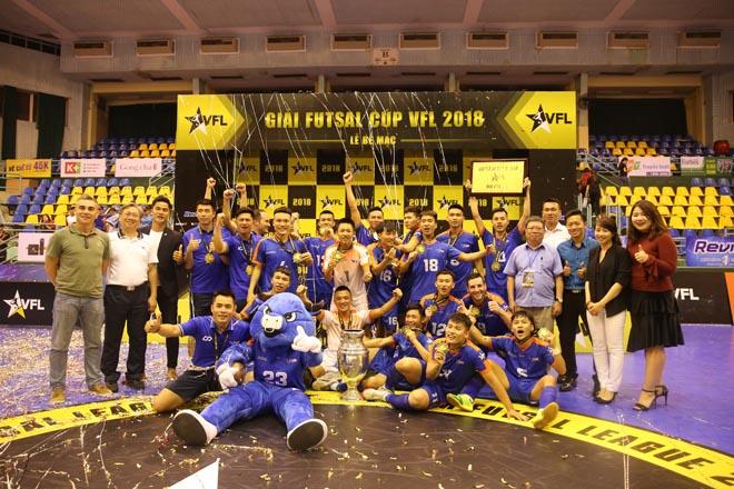 VFL 2018 – Nền tảng cho futsal Việt Nam phát triển bền vững - 1