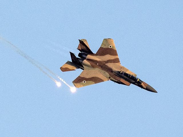 28 chiến đấu cơ Israel phóng 60 tên lửa vào Syria trong đêm