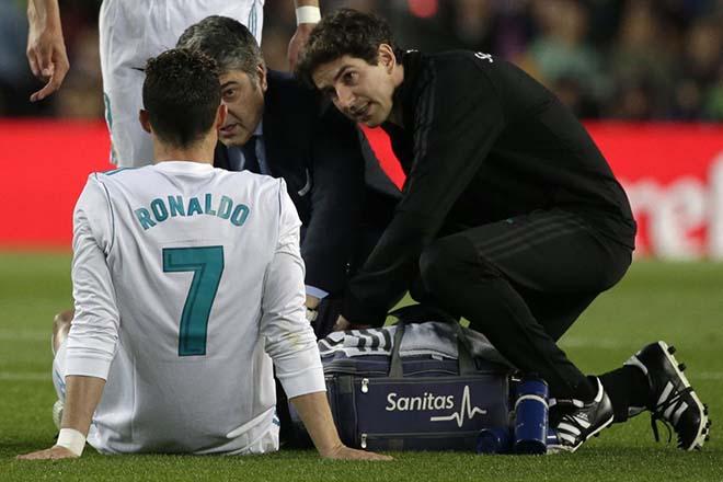 Ronaldo chấn thương: Bác sỹ tiết lộ sốc, lo CR7 mất World Cup - 1