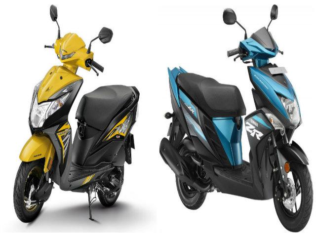 Dưới 20 triệu đồng, mua Honda Dio Deluxe hay Yamaha Cygnus Ray-ZR?