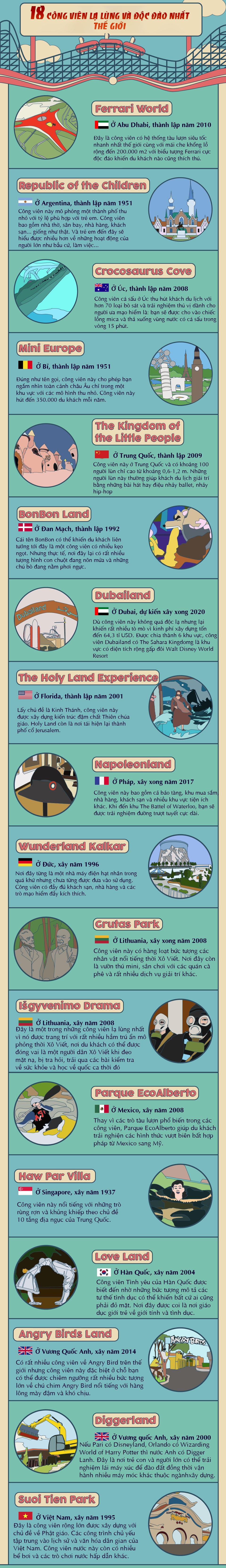 Suối Tiên lọt top 18 công viên lạ lùng và độc đáo trên thế giới - 1