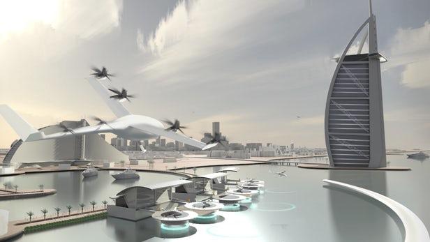 Năm 2020, người người nhà nhà sẽ bắt xe Uber… trên trời? - 1