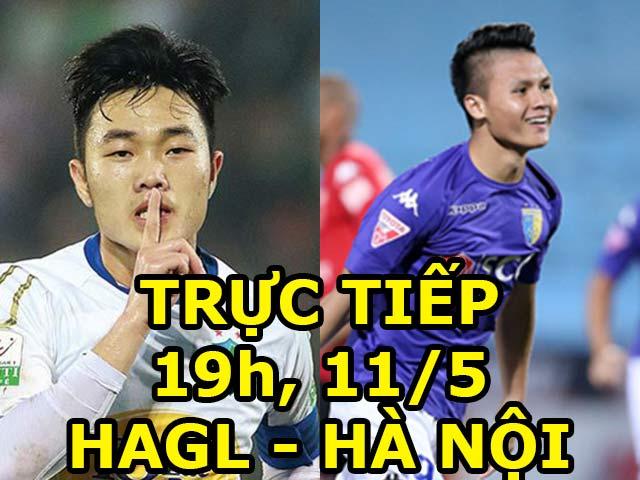 TRỰC TIẾP bóng đá HAGL - Hà Nội: Dàn SAO U23 đại chiến, rửa nợ 0-5