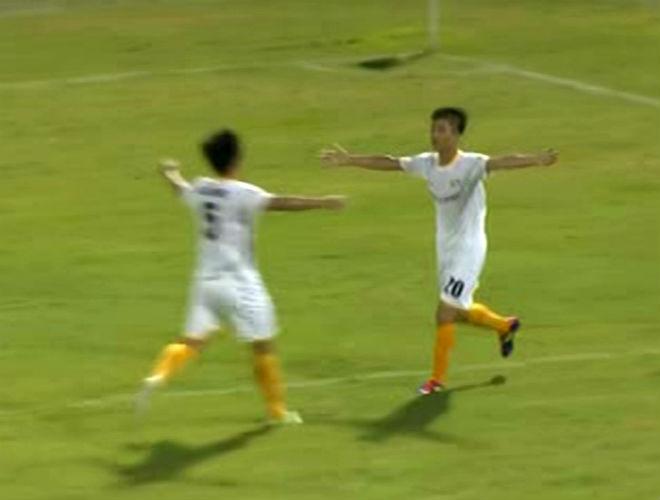 Đà Nẵng - SLNA: Hiệp 2 tưng bừng, Văn Đức U23 định đoạt - 1