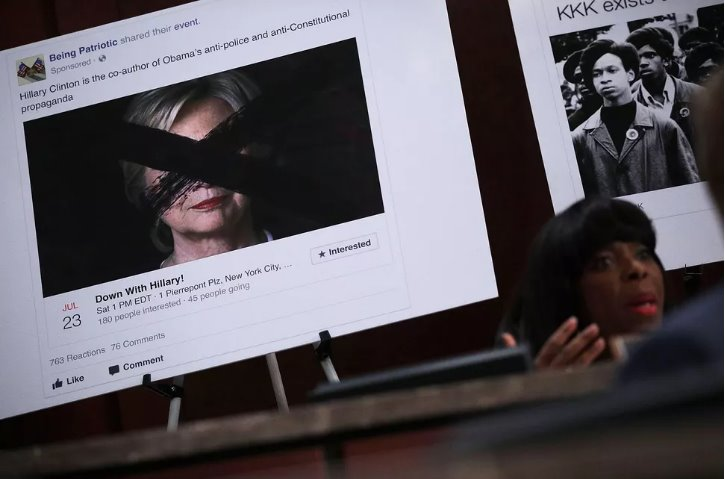 1 1526059959 500 width725height479 Nga đã mua 3.000 quảng cáo trên Facebook với giá 100 nghìn USD, nhằm thao túng bầu cử Tổng thống Mỹ