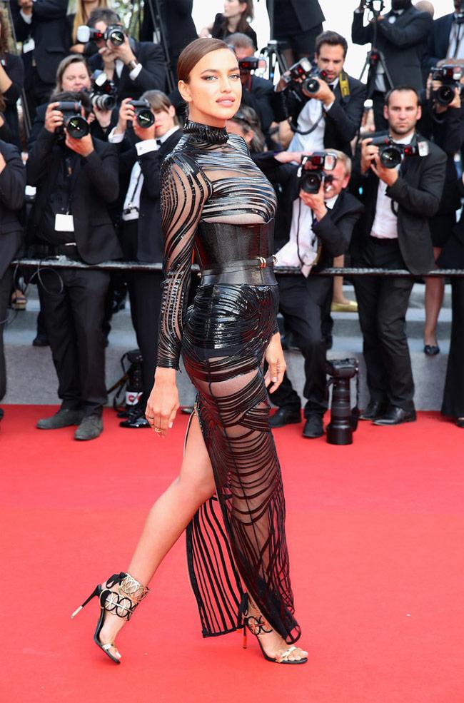 Cũng trong năm 2017, Irina trở lại Cannes với vẻ đẹp nữ thần.
