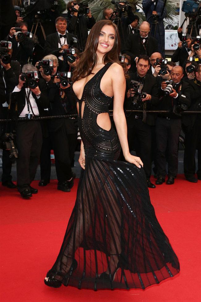 Irina quyến rũ tuyệt đỉnh tại Cannes 2014