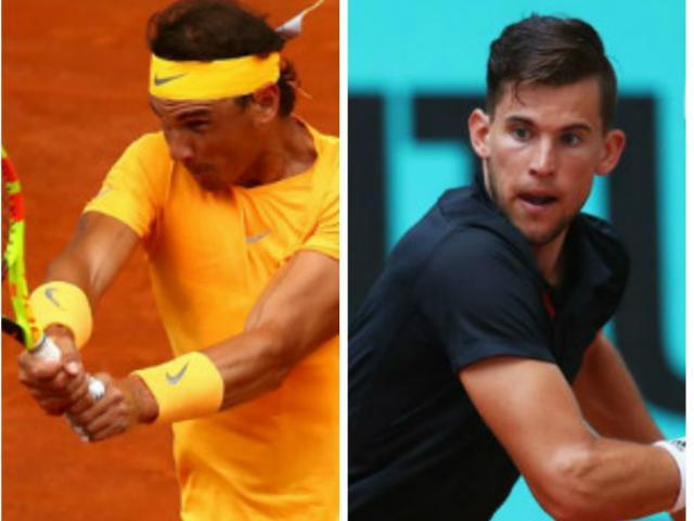 Nadal - Thiem: Rượt đuổi nghẹt thở, đại địa chấn khó tin (Tứ kết Madrid Open)