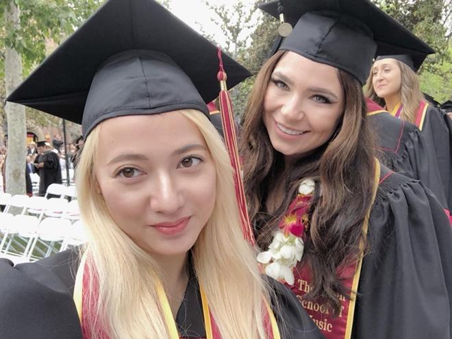 """""""Bé Xuân Nghi"""" tốt nghiệp đại học danh tiếng ở Mỹ - 1"""