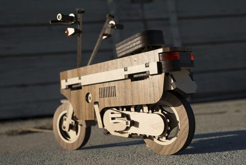 Siêu xe gỗ Laser Compo của xưởng Kirkshop: Đẹp đến từng centimet - 1