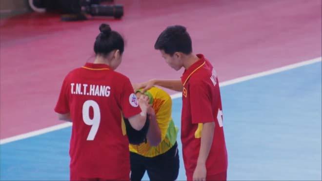 ĐT futsal nữ Việt Nam - Thái Lan: Gay cấn đôi công, định đoạt luân lưu - 1