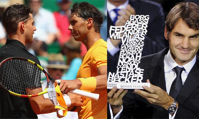 """Phân nhánh Rome Masters: Nadal mơ """"rửa hận"""" Thiem, đòi lại ngôi số 1 của Federer - 1"""
