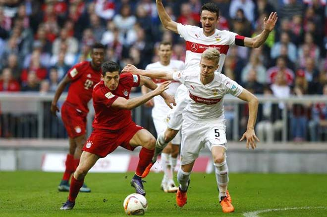 Bayern Munich - Stuttgart: Mãn nhãn 5 bàn, nhà vua địa chấn - 1