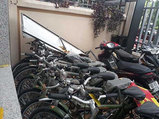 """Xe đạp tuần tra Công an Hà Nội """"đắp chiếu"""" - 1"""