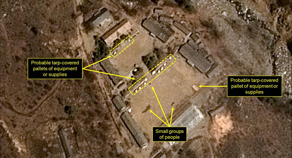 Triều Tiên công bố ngày đánh sập toàn bộ hầm bãi thử hạt nhân - 1