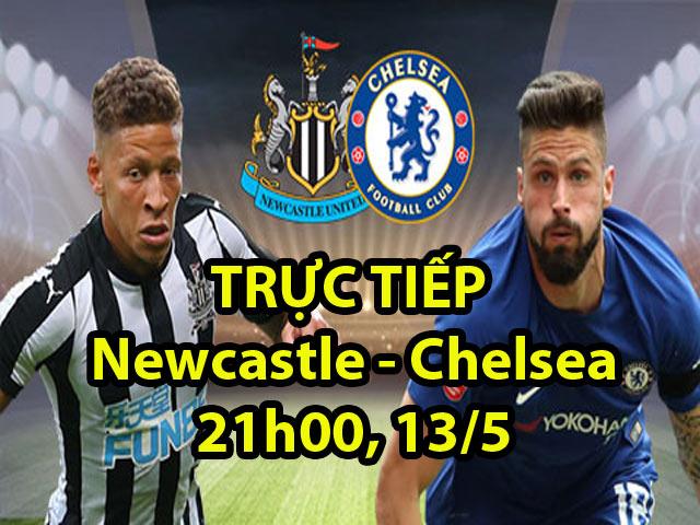 Trực tiếp Newcastle - Chelsea: Chủ nhà dồn lên tấn công
