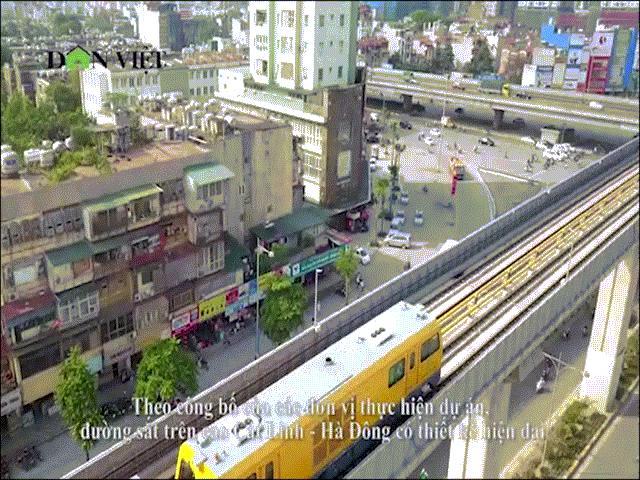 Clip: Trải nghiệm tàu đường sắt trên cao Cát Linh - Hà Đông