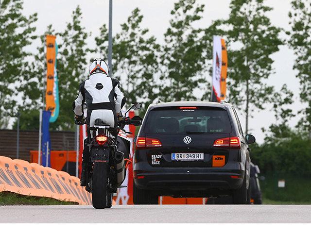 KTM phát triển các công nghệ an toàn dựa trên cảm biến