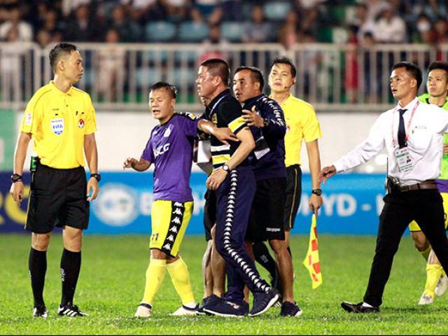 HAGL - Hà Nội đối đầu tóe lửa: Thành Lương, HLV Chu Đình Nghiêm bị phạt nặng