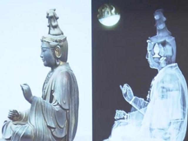 Nhật Bản: Khám phá tượng Phật cổ 700 tuổi, phát hiện kho tàng vô giá