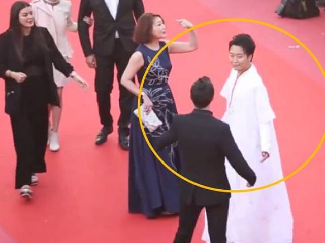 2 sao nam Trung Quốc bị phóng viên xua đuổi và ngó lơ trên thảm đỏ LHP Cannes