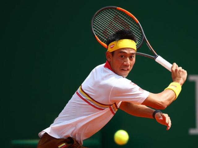 """Cập nhật Rome Masters ngày 1: Nishikori ra quân ấn tượng, gặp """"tiểu Federer"""" vòng 2"""