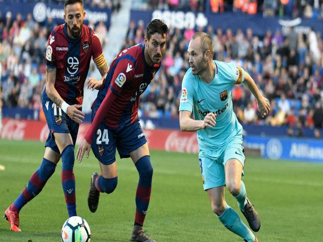 Levante - Barcelona: Đại địa chấn & 2 hat-trick mãn nhãn