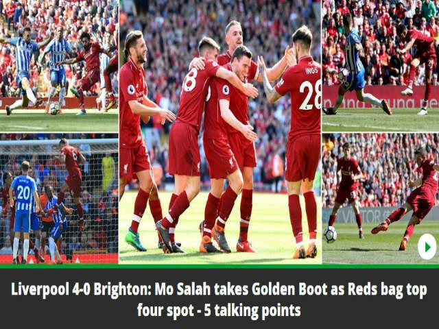 """Ngoại hạng Anh hạ màn: Báo chí Anh tôn vinh """"vua Salah"""", Chelsea sắp """"diệt vong"""""""