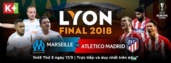 Chung kết Europa League: Marseille - Atletico Madrid quyết đấu vì ngôi vương - 1