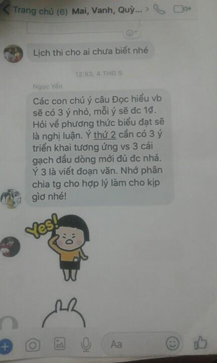"""Cô giáo đoán đề """"siêu chuẩn"""" nhiều năm rồi """"phím"""" cho học sinh, Chủ tịch Nguyễn Đức Chung chỉ đạo Sở GD&ĐT vào cuộc - 1"""