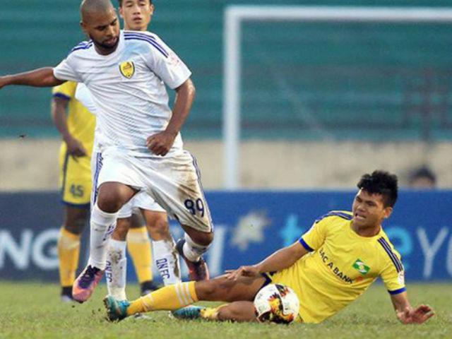 Căng thẳng cuộc chạy trốn top cuối V-League 2018