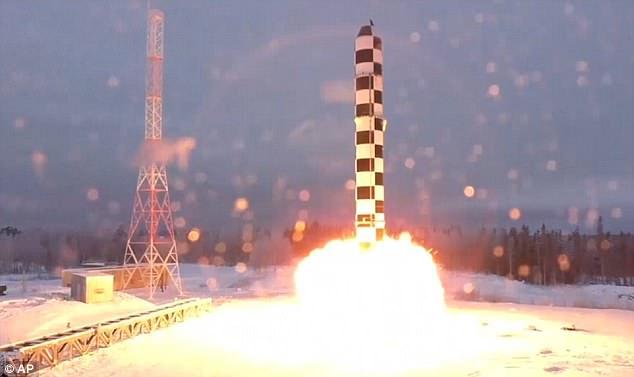 Vũ khí Nga nhanh gấp 20 lần âm thanh bắn tới mọi nơi trên thế giới - 1