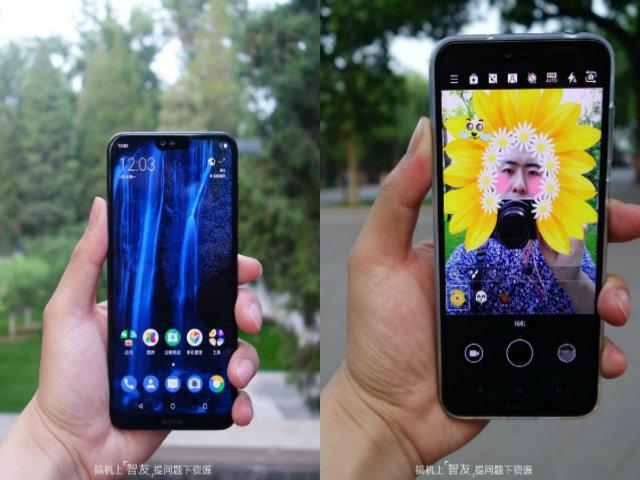 Trên tay ảnh thực tế Nokia X6 khiến tín đồ iPhone X chao đảo