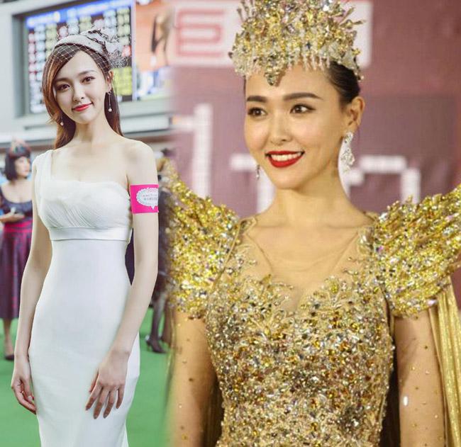 Dù là nữ thần Kim ưng nhiều tuổi nhất nhưng Đường Yên trông trẻ trung chẳng kém gì các đàn em.