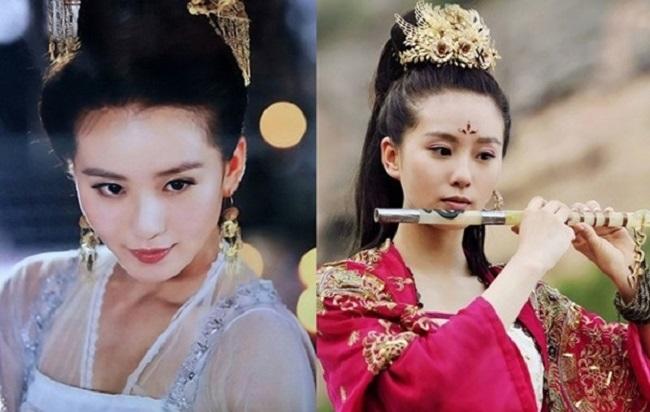 Lưu Thi Thi trở nên nổi tiếng nhờ bộ phim Bộ bộ kinh tâm. Dùng nước lạnh để rửa mặt là cách giúp Lưu Thi Thi có được dàn da mịn màng.