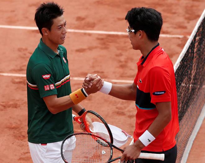 Nishikori và Chung Hyeon: Số phận nào cho các người hùng châu Á? - 1
