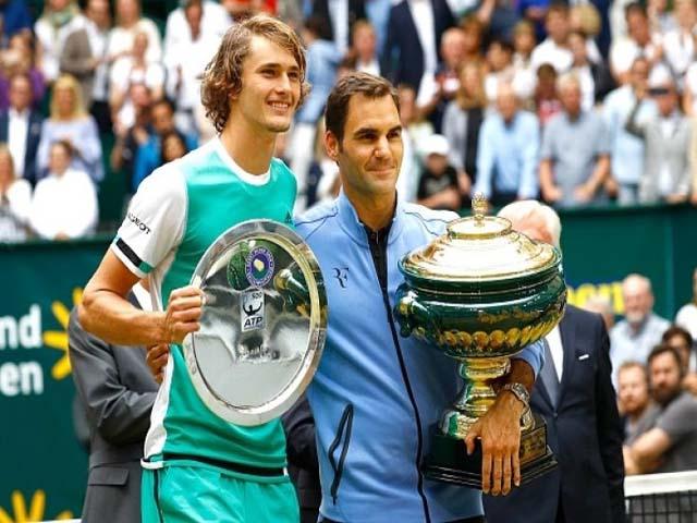 """""""Hoàng tử"""" Alexander Zverev: Người thừa kế ngai vàng Federer - Nadal"""