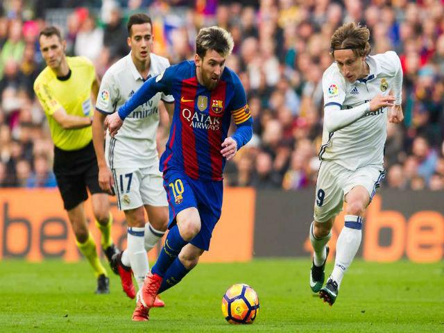 """""""Vua Liga"""" Messi bất ngờ khen Ronaldo - Real hay nhất thế giới, dễ vô địch C1"""